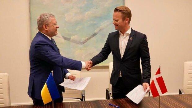 """Украина и Дания стали партнерами по """"зеленой"""" энергетике"""