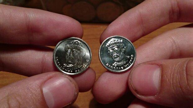 Нацбанк изменит дизайн монет 1 и 2 гривны, поступило много жалоб