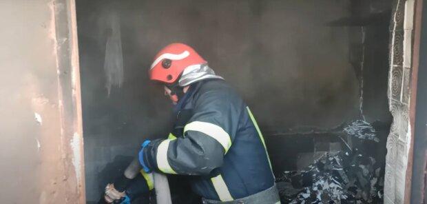 Пожар в Хмельницком