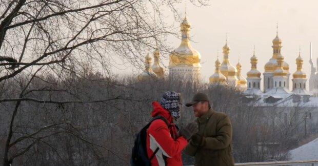 Морозы в Украине